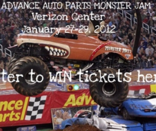Monster Jam® Coming to the Verizon Center!!