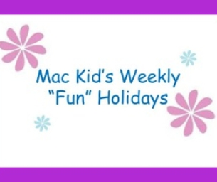 "This week's ""fun holidays"""