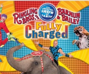 Special offer for Ringling Bros Circus!