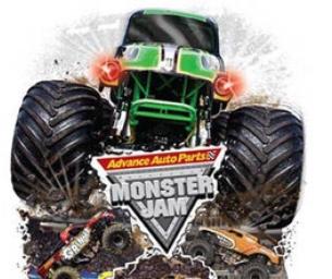 Monster Jam at the Webster Bank Arena