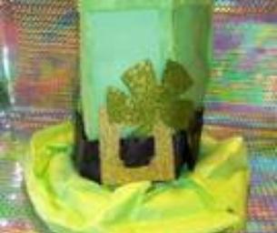 Macaroni Craft: Leprechaun Hat