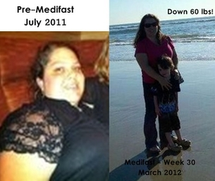 60 lbs down! My Medifast Weight Loss Journey