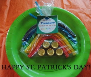 St. Patty's Rainbow Treasure Treats