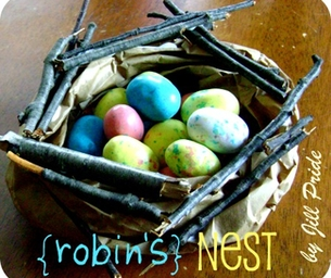Jump into spring with a Craft - Birds Nest