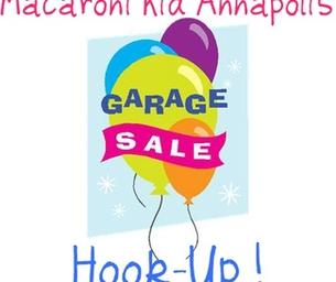 Macaroni Kid Garage Sale Hook Up!