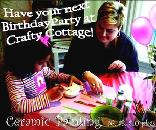 Celebrate Your Special Occasions at Crafty Cottage