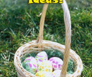 Candy-Free Easter Ideas