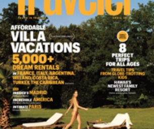 Conde Nast Traveler's Family Travel Issue is Here!