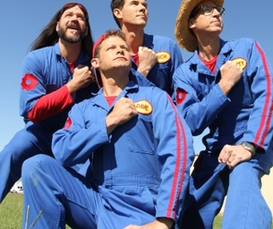 The Imagination Movers Rock-O-Matic Tour!