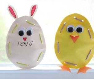 Easter Candy Pouches