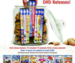 Fun Family DVDs from Cookie Jar