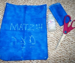 Passover Craft for Kids: Matzah Cover