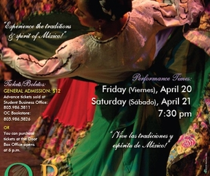 SPRING DANCE CONCERT IN OXNARD  4/21 and 4/22