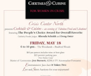 Crisis Center North Presents Cocktails and Cuisine