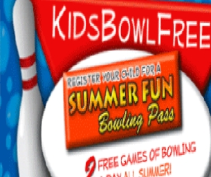 Kid's Bowl Free Summer Program!