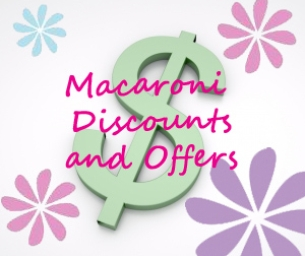 Macaroni Kid Reader Discounts! READ THIS!