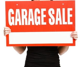 GET ORGANIZED, have a yard sale - we'll promote it