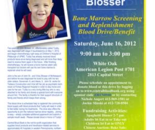 Help 2 Year Old John Blosser Jr.  - -BLOOD DRIVE