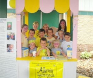 Alex's Lemonade Stand at Fun Fore All