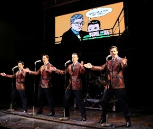 Jersey Boys Rock The Fox
