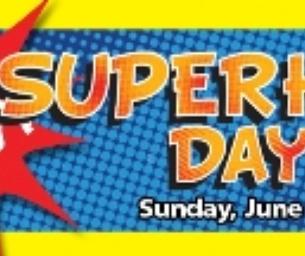 Win 4 TIX To SUPERHERO DAY, June 17th at Fernbank