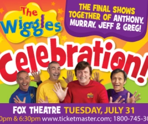 The Wiggles! Celebration Tour!