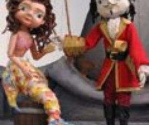 The Little Pirate Mermaid, Center for Puppetry Art