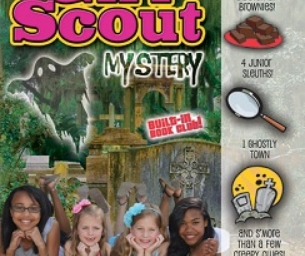 WIN A Copy of Giggling Ghost Girl Scout Mystery