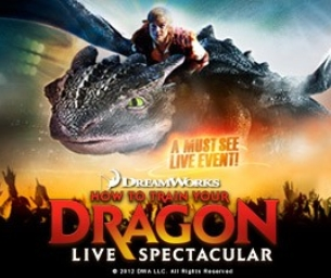 WIN 4 TIX - HOW TO TRAIN YOUR DRAGON LIVE!