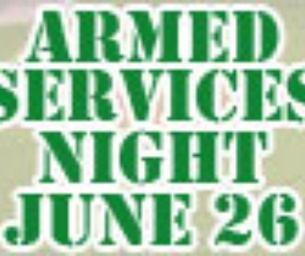 Pawsox 33rd Annual Armed Services Night -June 26th