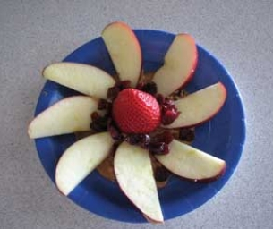 Fruit Flower Snack