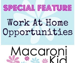Work at Home Opportunities From Local Moms