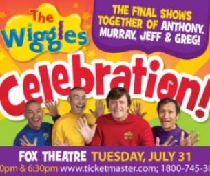 WIN 4 Tix  to The Wiggles Live in Concert!