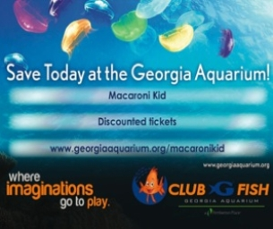 Macaroni Kid Discount at GEORGIA AQUARIUM!