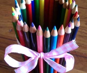 Craft: Colored Pencil Cup