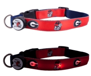 Dog-E-Glow Collars & Leashes (NCAA-Themed!)