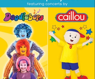 CAILLOU & DOODLEBOP  MUSICAL PLAYDATE-WIN TICKETS