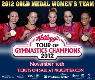 The 2012 Kellogg's® Tour of Gymnastics Champions