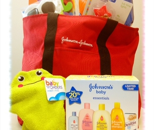 Win a Johnson's Baby Essentials Prize Pack!