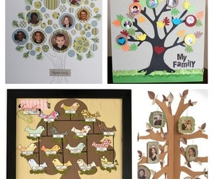 Family Tree Crafts: Grandparent's Day