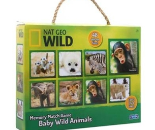 Uncle Milton's Nat Geo Wild Puzzles & Games