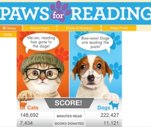MACARONI READS: PLEDGE TO READ TO YOUR FAMILY PET