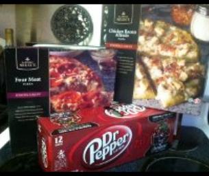 FREE Dr. Pepper When You Buy Two Pizzas!