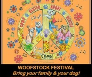 You're invited to WoofStock & Grateful Dog Walk!