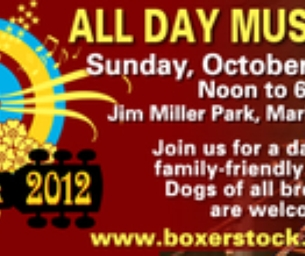 WIN TIX! Annual Boxerstock Music Festival Oct. 21