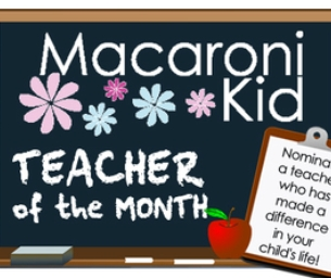 Announcing our Teacher Of the Month Feature