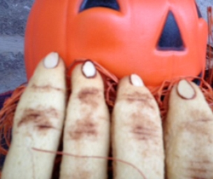 Creepy Finger Cookies