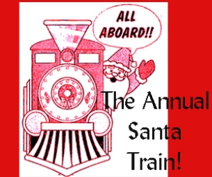 The Annual Santa Train!