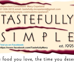 Tastefully Simple ~ Mary Copeland