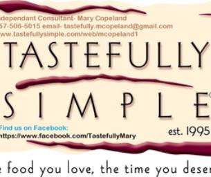 Tastefully Simple ~ Mary Copeland